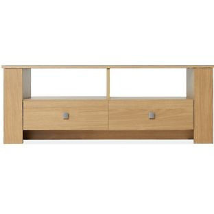 Hamilton Entertainment Unit - Oak Effect
