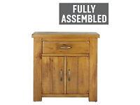 Arizona 2 Door 1 Drawer Sideboard – Solid Pine.
