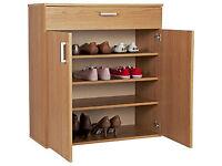 Venetia Shoe Storage Unit - Oak Effect