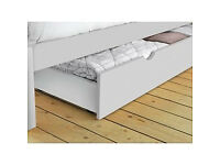 Aspley Single Drawer White