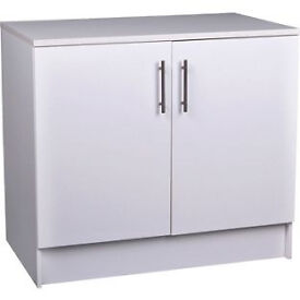 Athina 1000mm Fitted Kitchen Base Unit - White