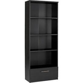 Anderson Tall Bookcase - Black