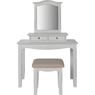 Heart of House Avignon 2 Drawer Dressing Table - White