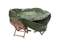 NEW Patio Set Cover - Extra Large Oval