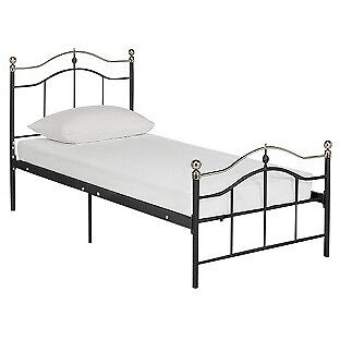 Brynley Single Bed Frame - Black