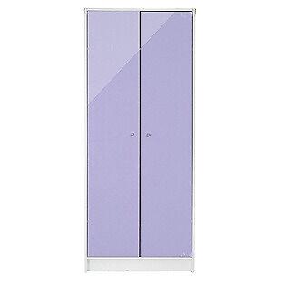 New Malibu Gloss 2 Door Wardrobe - Lilac