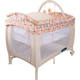 Deluxe Travel Cot (like new)