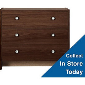 Seville 3 Drawer Chest - Wenge Effect