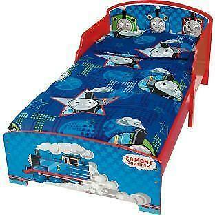 Thomas The Tank Engine Toddler Bed Ebay