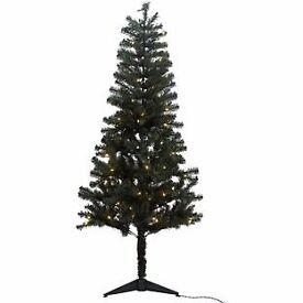 6ft Pre-lit Christmas Tree - Green