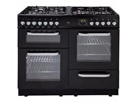 brand new Bush BCL100DFB Dual Fuel Range Cooker- Black.