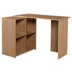 Calgary Corner Desk - Oak Effect