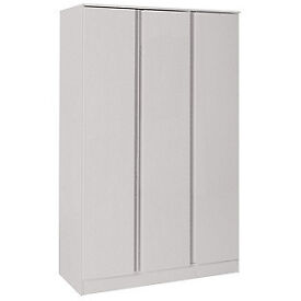 Hygena Inanna 3 Door Wardrobe - Soft Grey