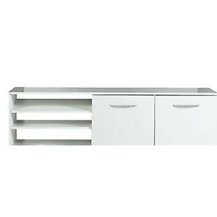 Hayward Wide TV Unit - White