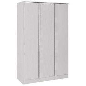 Hygena Inanna 3 Door Wardrobe - Soft Grey