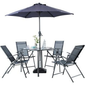 Milan 4 Seater Patio Set