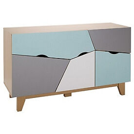 Hygena Multicoloured Sideboard