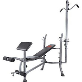 Pro Fitness Lat and Curl Bench