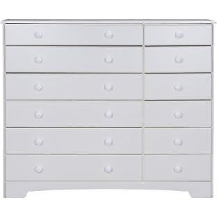 """Nordic 6 6 Drawer ChestWhitein Aston, West MidlandsGumtree - item is new and in box contact me if interested. """"Part of the Nordic collection. Size H105, W124, D40cm. Wood effect. 12 drawers with metal runners. Wooden handles."""" can deliver any day for £15"""