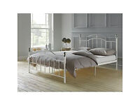 Brynley Kingsize Bed Frame - Ivory