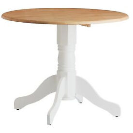 Collection Kentucky Drop Leaf Table - Oak White