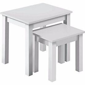 New nest tables white