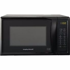 Morphy Richards 20L Microwave with Grill - Black