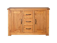 Harvard 2 Door 3 Drawer Sideboard - Solid Pine