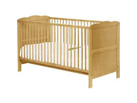 Baby's Cot that converts to Junior Bed, similar to Argos 378/5810