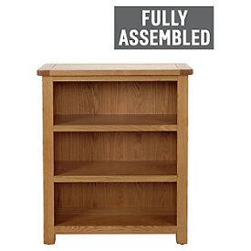 Kent Small Bookcase – Solid Oak & Oak Veneer