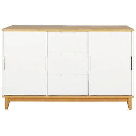 Skye 2 Door 3 Drawer Sideboard - White