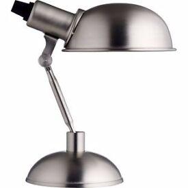 Habitat Tommy Desk Lamp - Silver.