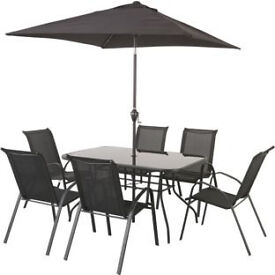 Sicily 6 Seater Patio Set