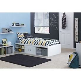 Declan Cabin Bed - White