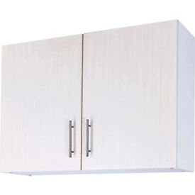 Athina 1000mm Fitted Kitchen Wall Unit - White