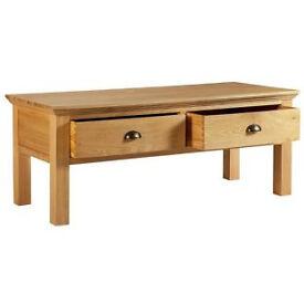 Westminster Coffee Table - Solid Oak