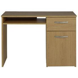 Hayward Office Desk - Oak Effect