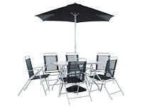 Pacific 6 Seater Patio Furniture Set