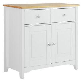 Fairbourne 2 Door 2 Drawer Sideboard - White