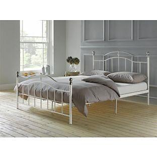 Brynley Kingsize Bed Frame - Ivory