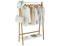 Bamboo Clothes Rail