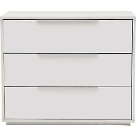 Heart of House Bergen 3 Drawer Chest - White