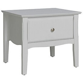 Heart of House Avignon 1 Drawer Bedside Chest - White
