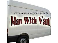 Man And Van call 07493474833 d.i.y. pick up. Storage runs.light and flat removals