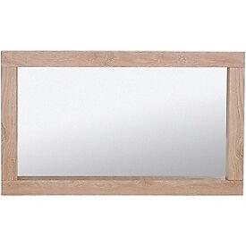 Schreiber Harbury Wall Mirror - Oak.