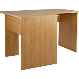 Walton Corner Office Desk - Oak Effect