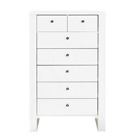 Vienna 5+2 Drawer Chest - White