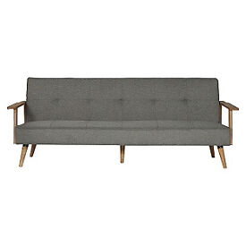 Hygena Margot Fabric Sofa Bed - Charcoal