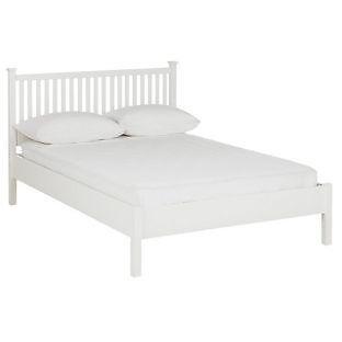 Adalia Kingsize Bed Frame - White