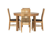 Coleridge Extendable Oval Table - 4 Paris Chairs.